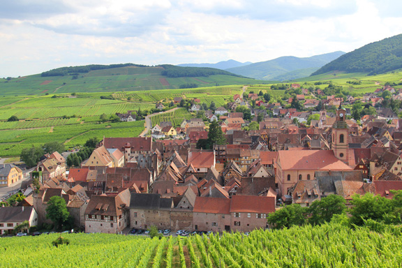 The villages of Alsace